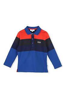 HUGO BOSS Stripe polo shirt 4-16 years