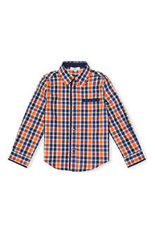 HUGO BOSS Checked cotton shirt 4-16 years