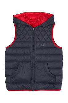 HUGO BOSS Reversible padded gilet 4-16 years