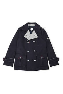 HUGO BOSS Double-breasted peacoat 6-16 years