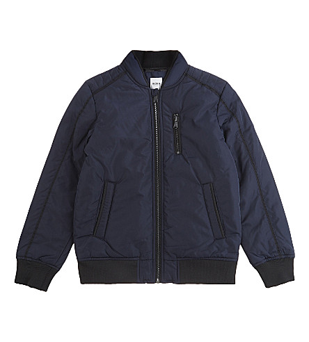 BOSS Bomber jacket 4-16 years (Navy