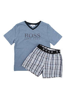 HUGO BOSS Pyjama gift set 4-16 years