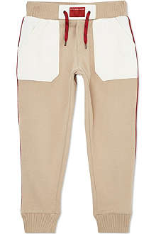 LITTLE MARC Colour-blocked jogging bottoms 3-12 years