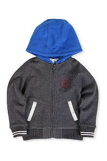 LITTLE MARC Colour-blocked hoody 4-14 years