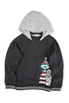 LITTLE MARC Snowboard hoody 4-14 years