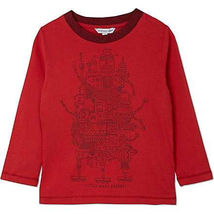 LITTLE MARC Robot top 3-12years (Red