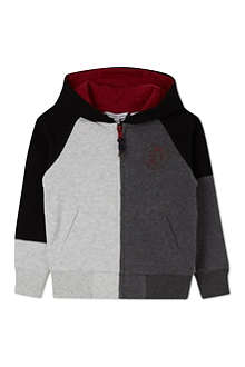 LITTLE MARC Zipped hoody 3-12 years