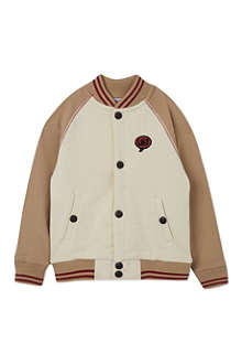 LITTLE MARC Jersey bomber jacket 3-12 years