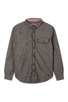 LITTLE MARC Piped placket shirt 4-14 years