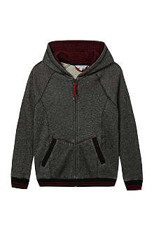 LITTLE MARC Zip sweat jacket hoodie 4-14 years