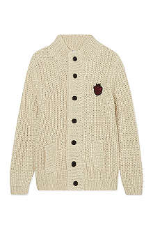 LITTLE MARC Chunky knit cardigan