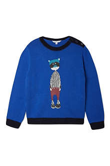 LITTLE MARC Illustrated jumper 4-14 years