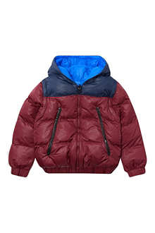 LITTLE MARC Removable sleeve puffer coat 4-14 years