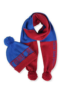 LITTLE MARC Hat and scarf set 2-16 years