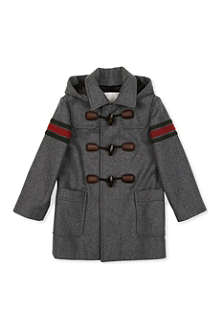 GUCCI Striped duffle coat 4-12 years