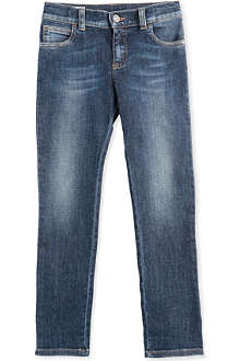 GUCCI Straight-leg denim jeans 4-12 years