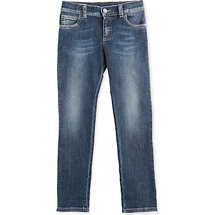 GUCCI Straight-leg denim jeans 4-12 years (Blue