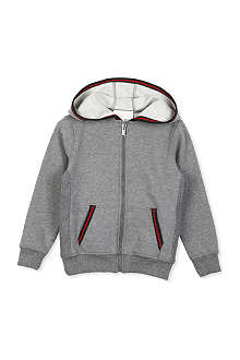 GUCCI Striped-trim hoody 4-12 years