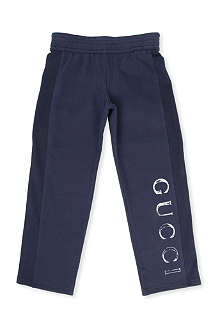 GUCCI Logo-printed jogging bottoms 4-12 years