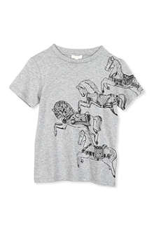 GUCCI Horse-print t-shirt 4-12 years