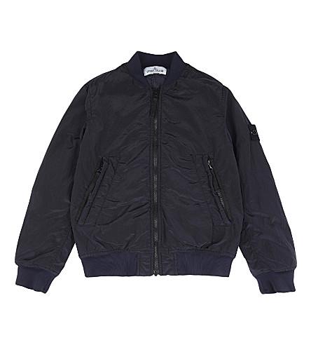 STONE ISLAND Bomber jacket 4-14 years (Blue+marine