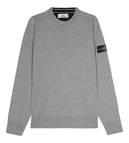 STONE ISLAND Wool jumper 4-14 years (Grey