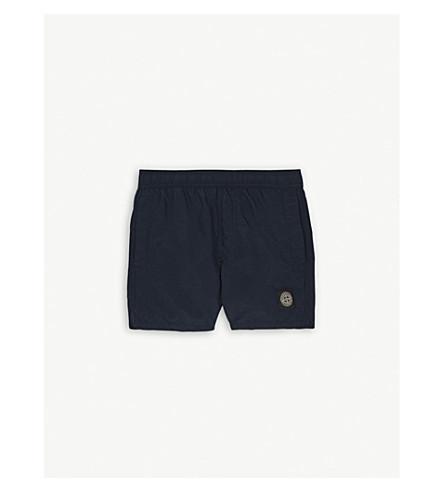 STONE ISLAND Patch swim shorts 4-14 years (Navy