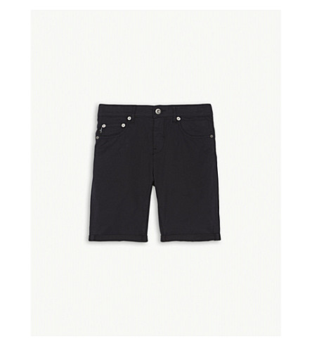STONE ISLAND Type: RE cotton shorts 4-14 years (Navy