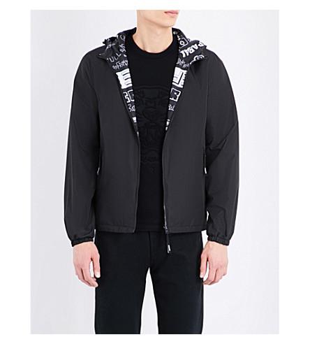 KENZO Reversible shell jacket (Black