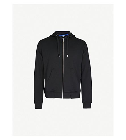 KENZO Tiger logo cotton-jersey hoody (Black