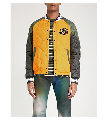 KENZO Quilted shell-down bomber jacket (Maigold