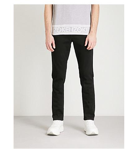 KENZO Slim-fit skinny jeans (Black