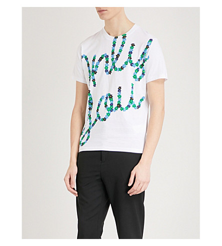 KENZO Only You cotton-jersey T-shirt (White