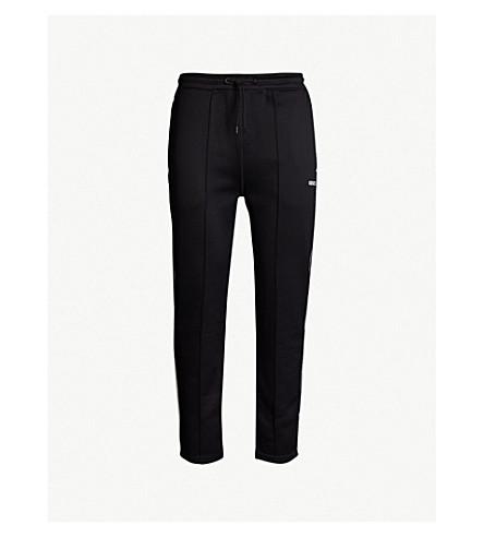 KENZO 休闲版型平纹针织面料慢跑裤 (黑色