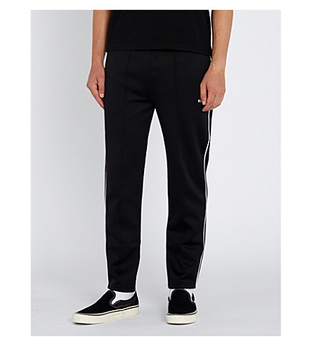KENZO Relaxed-fit jersey track pants