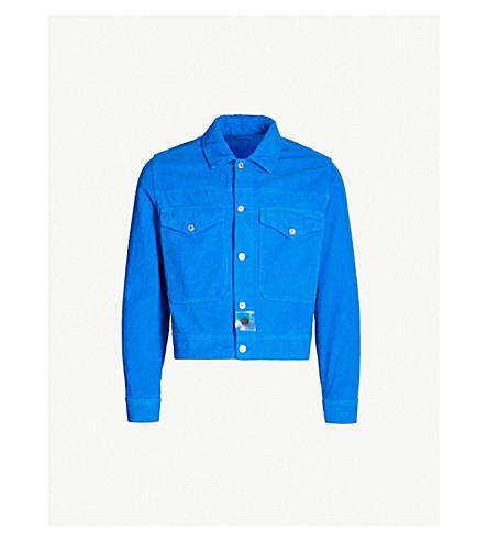 KENZO Corduroy trucker jacket (Cobalt