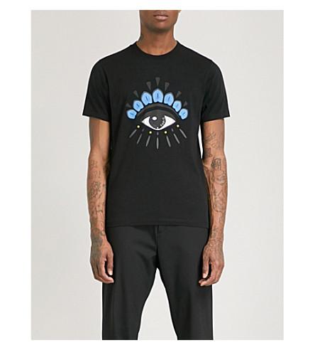 KENZO Eye Icon cotton-jersey T-shirt (Black