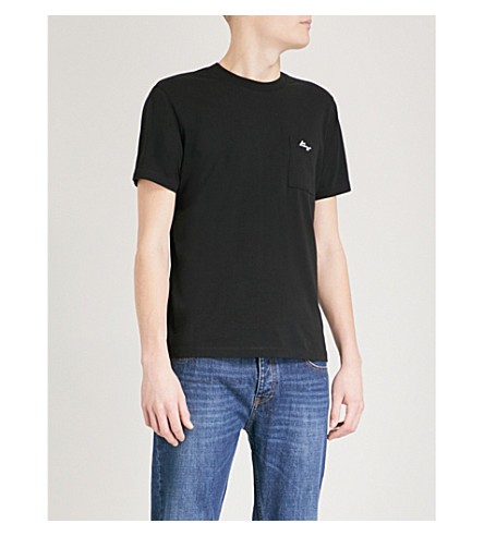 KENZO Logo-print cotton-jersey T-shirt (Black