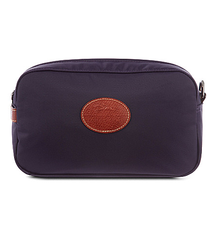 LONGCHAMP Le Pliage toiletry case (Myrtille