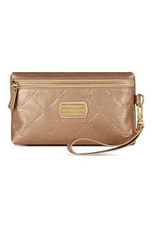 LONGCHAMP Le Pliage Cuir leather pouch