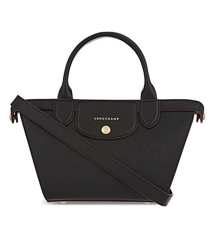 LONGCHAMP Pliage heritage small cross-body bag (Black