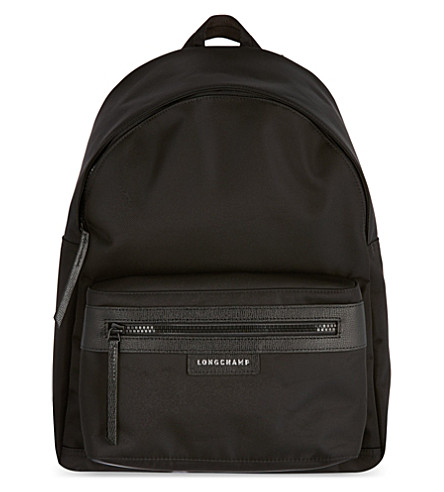 LONGCHAMP Le Pliage neoprene backpack (Black