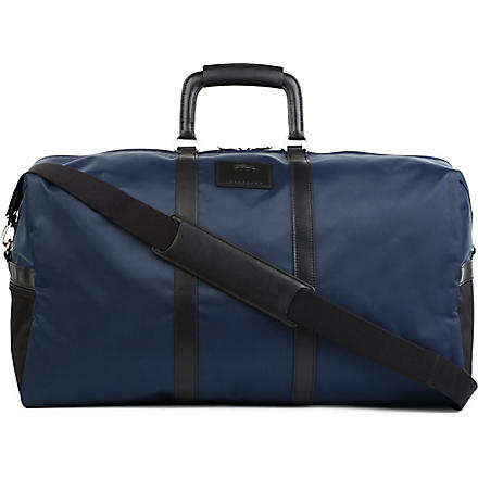 LONGCHAMP Baxinyl medium travel bag (Navy/blk