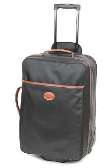 LONGCHAMP Le Pliage two-wheel cabin suitcase in black