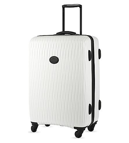 LONGCHAMP Fairval hard-shell suitcase (White