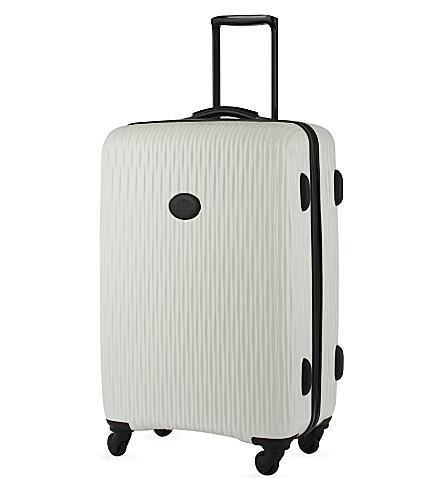 LONGCHAMP Fairval hard-shell suitcase (White