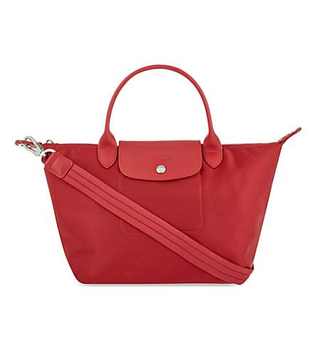 LONGCHAMP Le Pliage Néo small shopper (Ruby