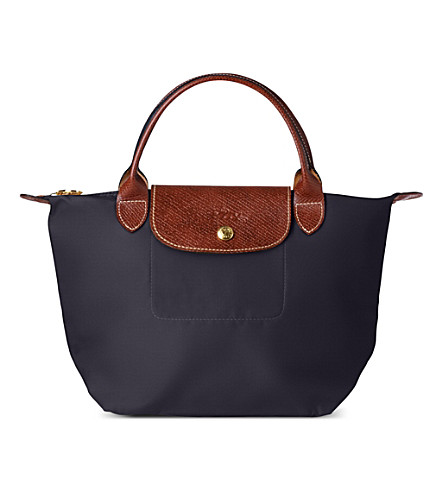 LONGCHAMP Le Pliage small handbag (Bilberry