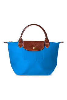 LONGCHAMP Le Pliage small handbag in ultra marine