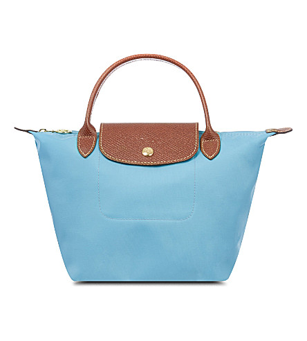 LONGCHAMP Le Pliage small handbag (Azur